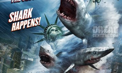 sharknado 2 art - Sharknado: The Video Game Coming to iOS; New Book Also Available Now