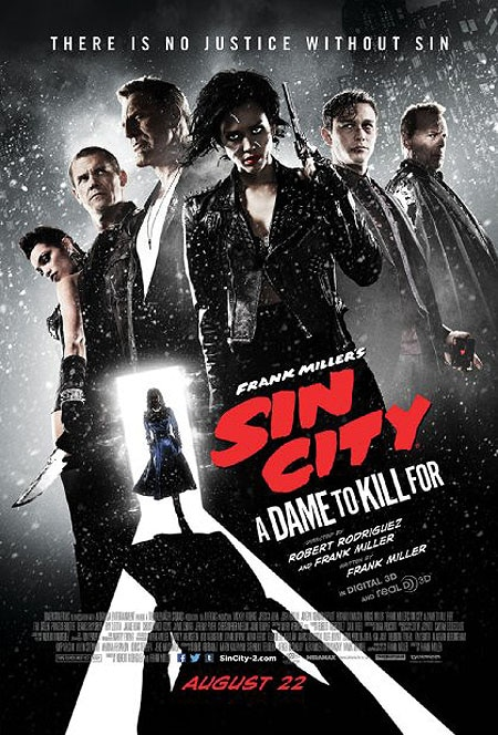 sin city a dame to kill for - Spend a Minute with the Latest Sin City: A Dame to Kill For Trailer