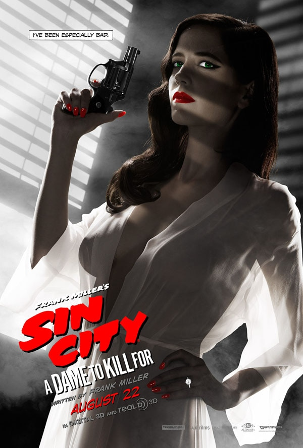 sin city nipple - Check Out Frank Miller's Sin City: A Dame to Kill For Storyboard Art