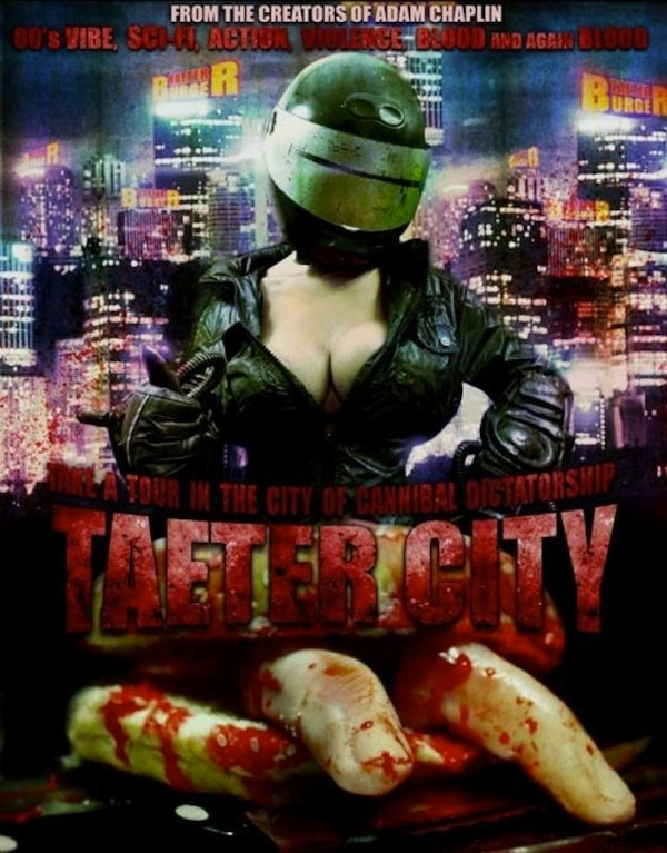 taetercitya - Taeter City VHS/DVD Deluxe Set Now Available from Cult Movie Mania