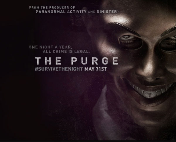 the purge poster1 - First Look at The Purge - Trailer, Stills, and Artwork!