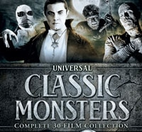 uni box s - Universal Releasing a Monster Sized DVD Box Set of 30 Films!