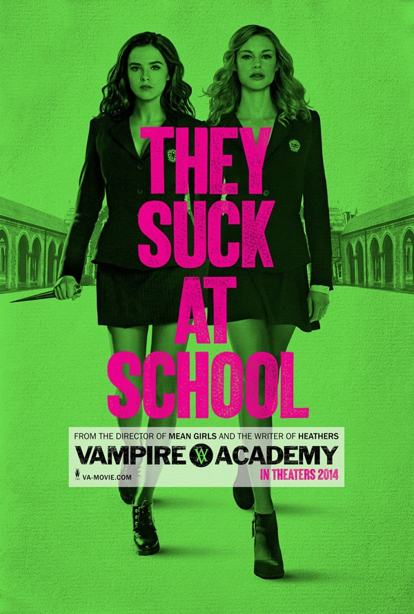 vampire academy poster - Take a Bite Out of the First Clip from Vampire Academy