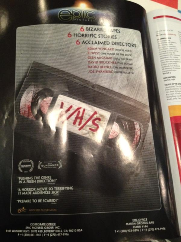 vhs - Red Band Trailer and Image Gallery for V/H/S Come with NO Late Fees!