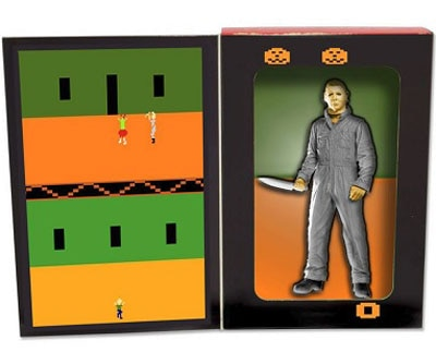 videogame 4 - Freddy in Space Gives the Atari Versions of Michael Myers and Leatherface the Action Figure Treatment!