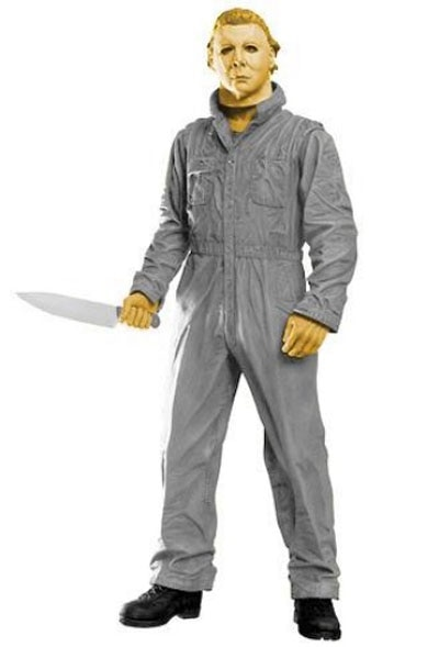 videogame 5 - Freddy in Space Gives the Atari Versions of Michael Myers and Leatherface the Action Figure Treatment!