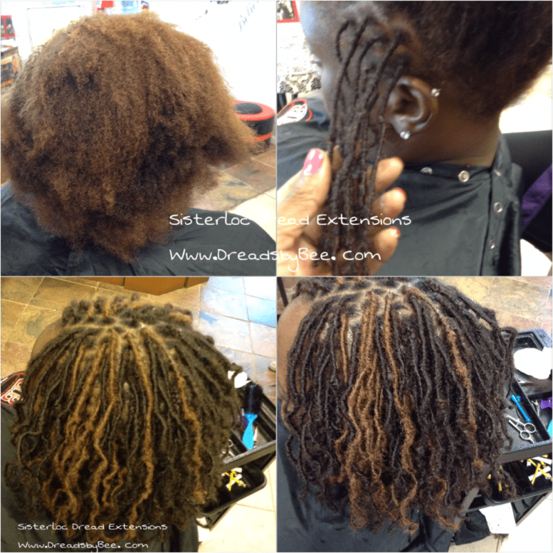 Instant Dreads On Short Hair Makeupsite