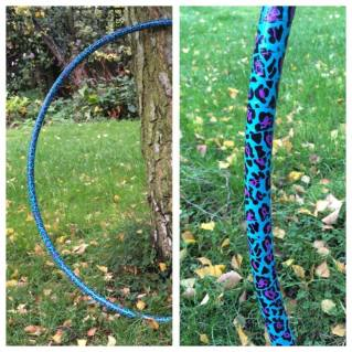 fully taped poly pro hula hoop - £25 + p&p