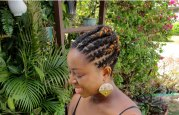 professional locs hairstyle