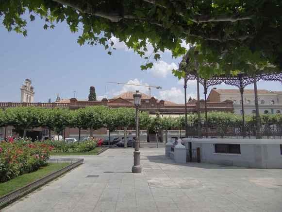 Plaza de Cervantes - Quiosco de música