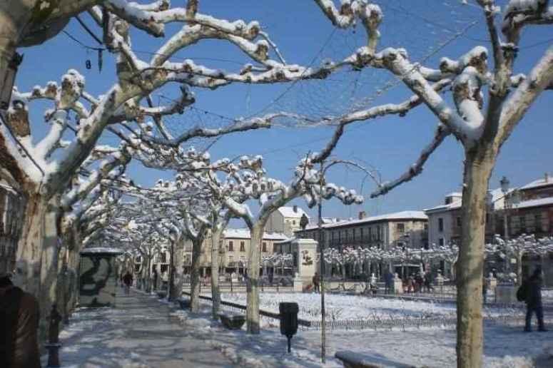 Plaza Cervantes nevada - Ursula Cargill Garcia Zimmermann