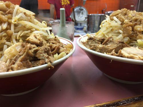 ラーメン荘おもしろい方へ 住道 麺大盛