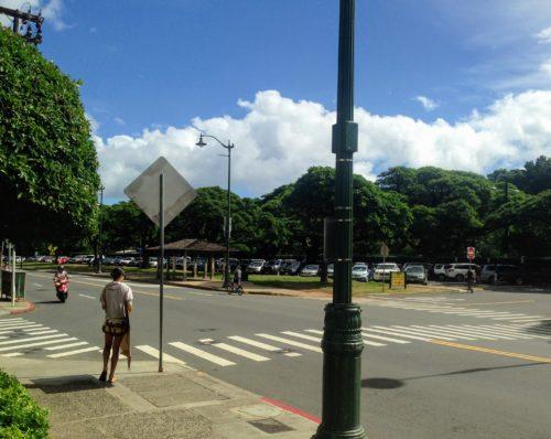 ハワイ 日本 違い 横断歩道