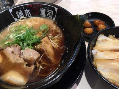 河童定食 ラーメン チャーシュー丼 ニンニク