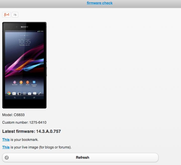 Sony_Xperia_C6833_firmware_check