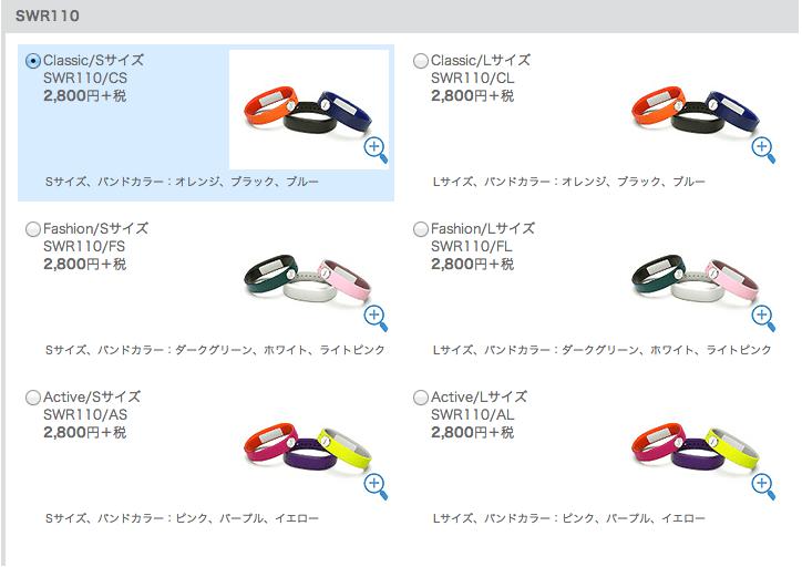 SmartBand_リストバンド_「SWR110」の商品購入|ソニーの公式通販サイト ソニーストア(Sony_Store)