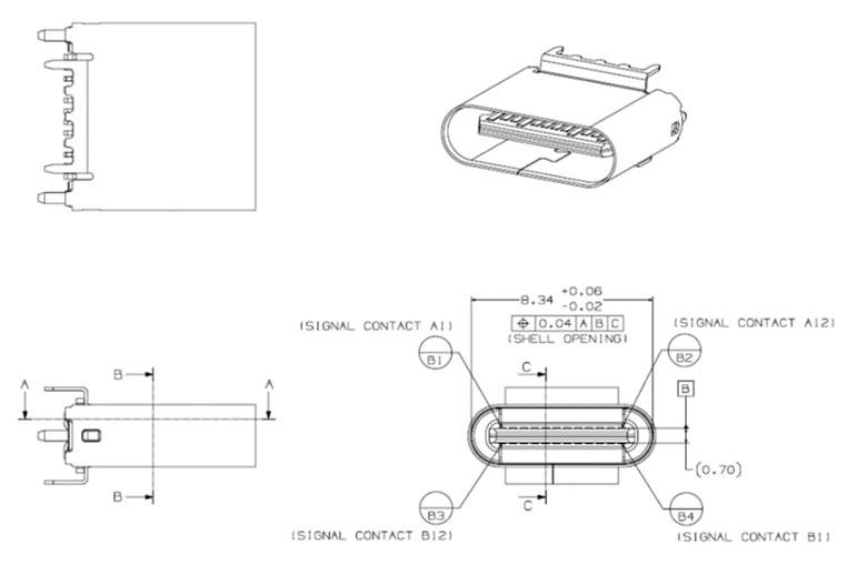 USB3.0 Promoter Group、上下どちら向きでも挿せるUSB 3.1 Type-Cコネクタの最終仕様を