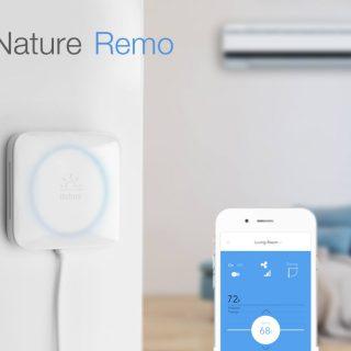 エアコンをスマート化するNature RemoがKickstarterで出資募集中 IFTTTなどとも連携可能