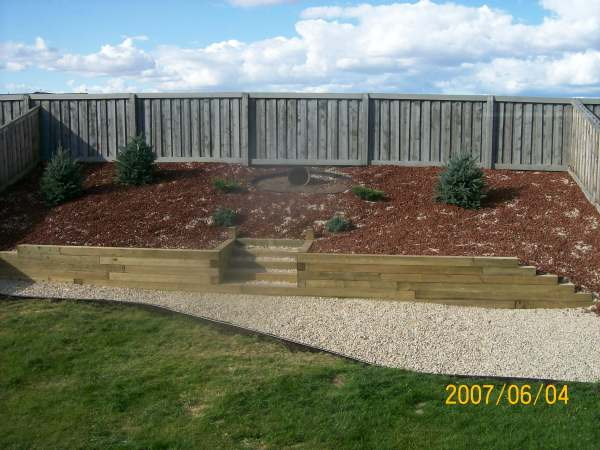 Landscaping A Slope