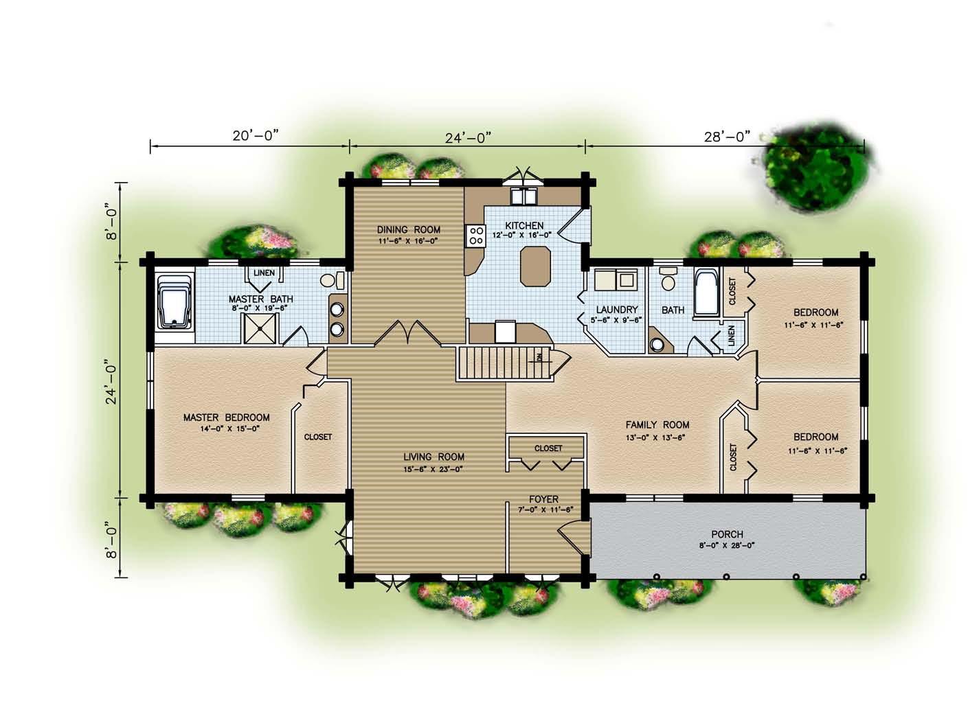 Custom Design and Floor Plans