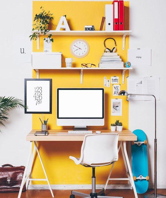 Crear una zona de trabajo en casa