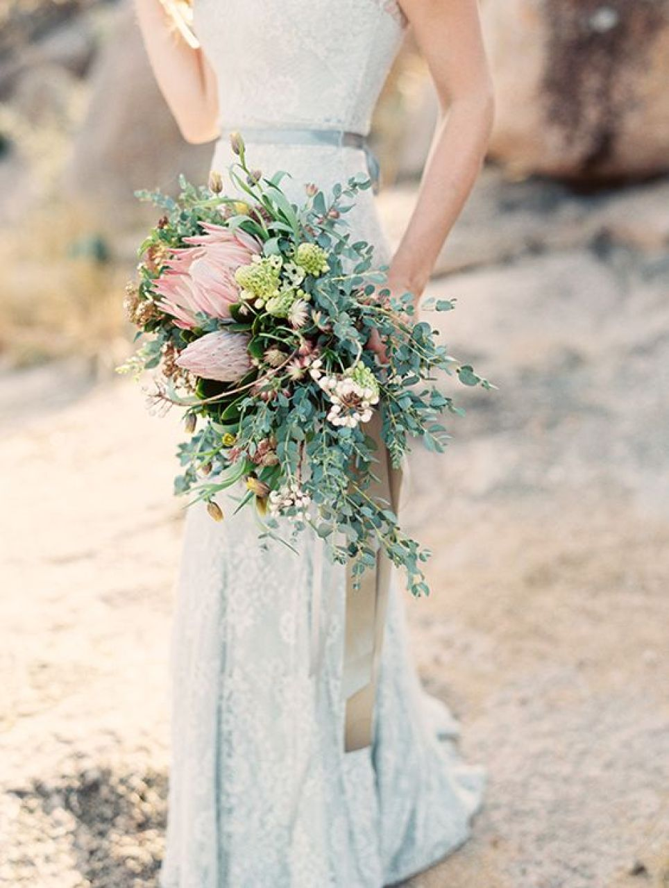 ramo-novia-hojas-verdes