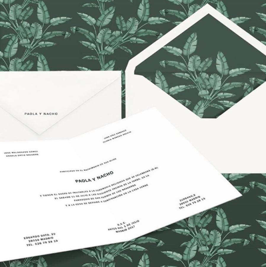 sobre-boda-invitacion-greenery