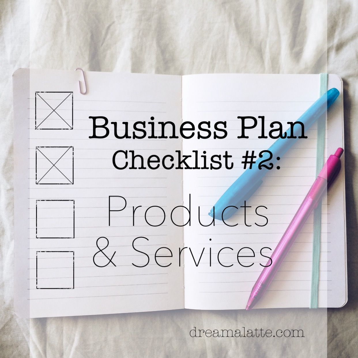 Coffee Shop Business Plan: Products & Services - Dream