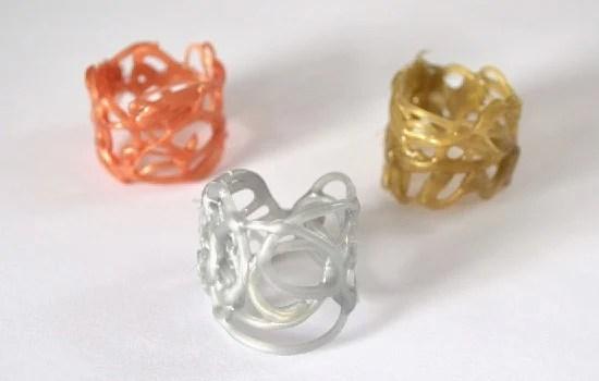 Hot Glue Rings A DIY Jewelry Experiment Dream A Little