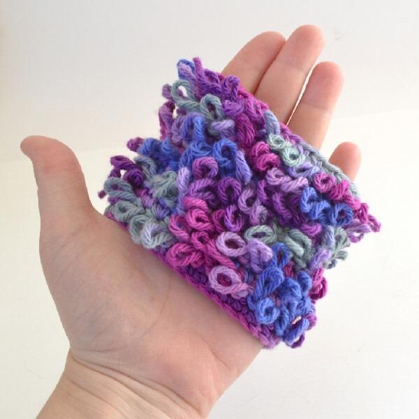Loop Crochet Stitch Tutorial Dream A Little Bigger