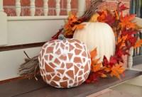 Mosaic Terra Cotta Pumpkins for Fall - Dream a Little Bigger