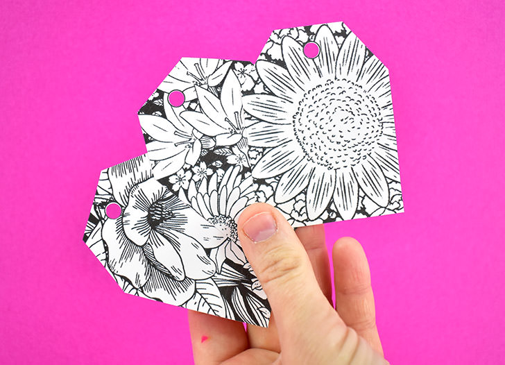 free floral gift tags
