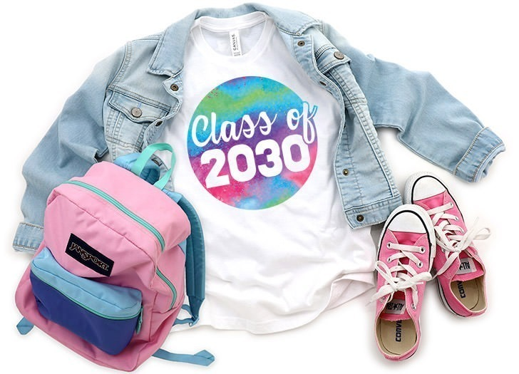 Download Make a Graduation Year Shirt with this Free SVG ⋆ Dream a ...