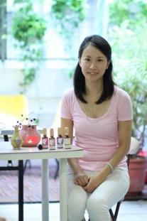 Lila,有機護膚品品牌Kohas Organic Beauty創辦人,香薰治療師。