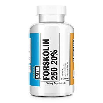Pure forskolin 250 mg