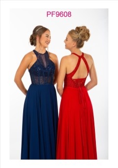 PF9608 Navy and Red