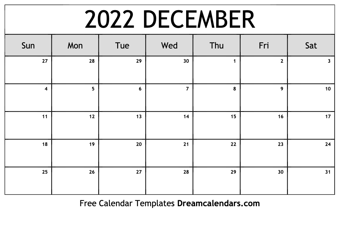 When autocomplete results are available use up and down arrows to review and enter to select. December 2022 calendar   free blank printable templates