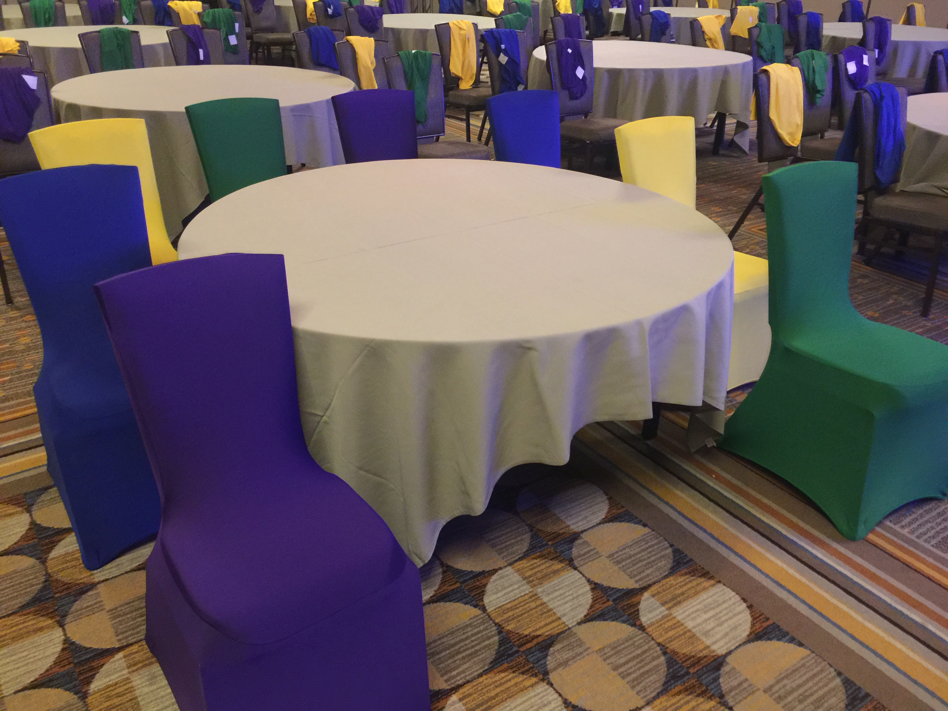 green banquet chair covers custom embroidered directors chairs emerald spandex dream captured event design