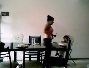 VID: Nanny Facing Jail For Stealing Candy From Baby