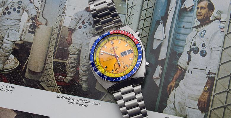 """Seiko 6139 """"Pogue"""", Vintage Seiko Chronograph"""