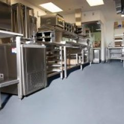 Commercial Kitchen Flooring Stonewall Pancake Mix Epoxy Stained Concrete For Restaurants Restaurant