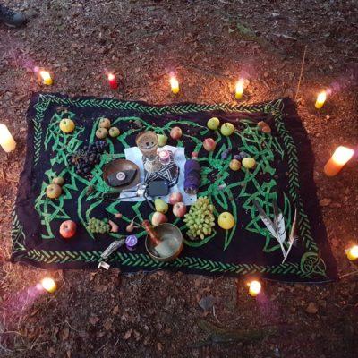 Ritual und Dankbarkeit sind wunderbare Praktiken um sich und die Welt zu ehren