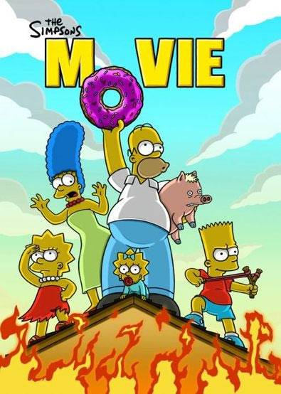 simpsons movieposter