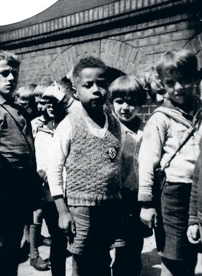 African-German child with his schoolmates, under the Nazi regime. Pic credit: USHMM