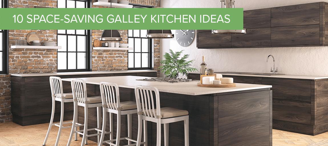 10 SpaceSaving Galley Kitchen Ideas  Dream Doors