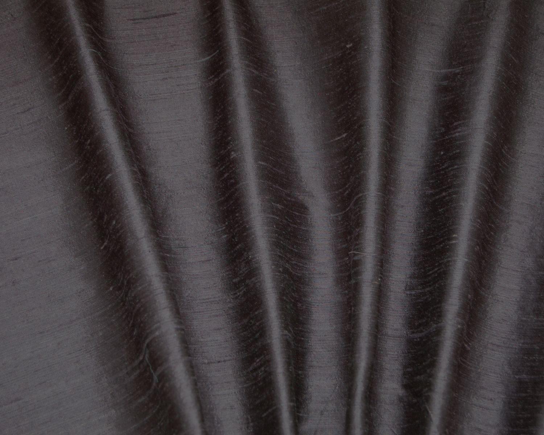 Dark Grey Silk Dupioni Drapes & Curtains DreamDrapes Com