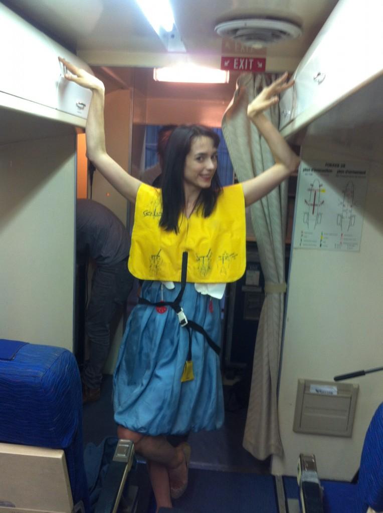 Kendal on a plane