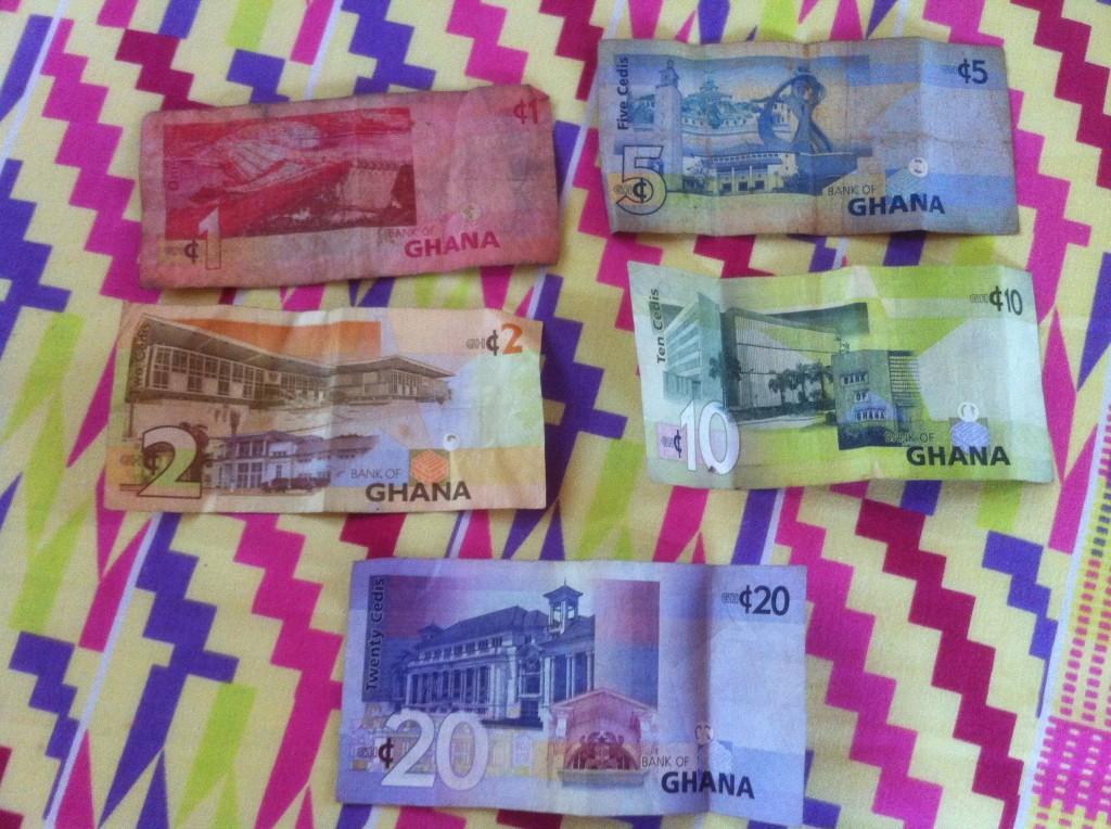 Ghanaian cedis - I'm rich!
