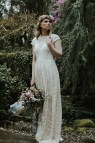 Simple Lace Wedding Dress Dreamers And Lovers