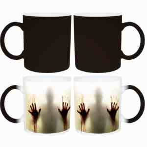 Gifts for writers - Zombie mugs